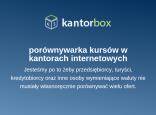 porównywarka kantorbox
